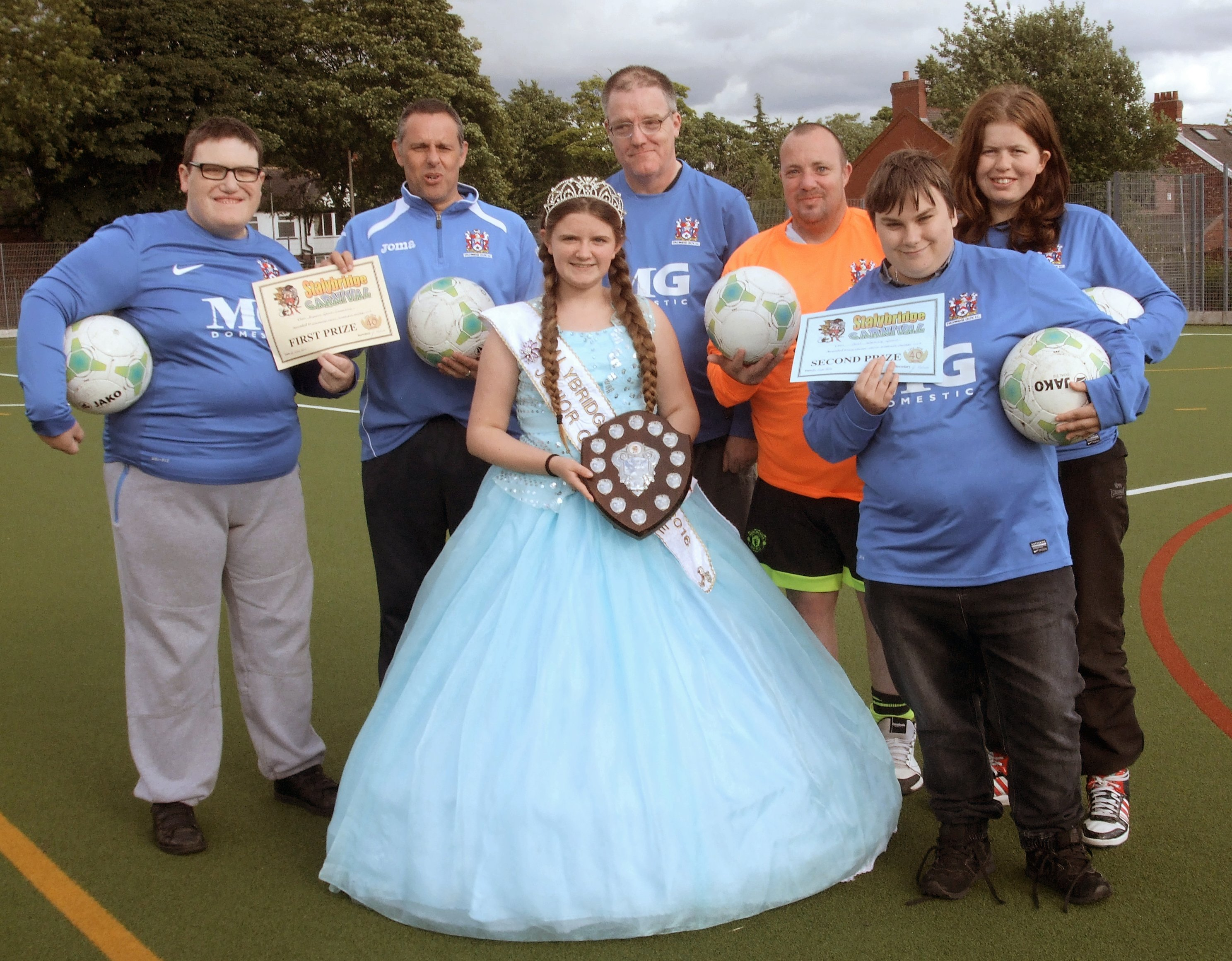 Disability Team Are Carnival Winners