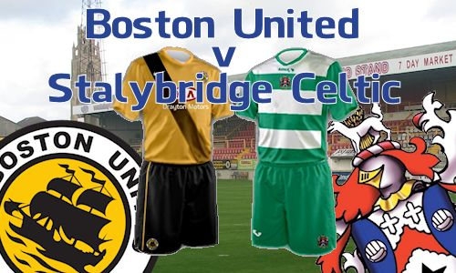 Boston United - Saturday August 6th, 2016