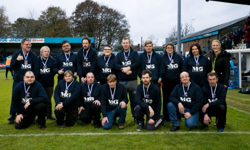 Disability Team Strike Gold