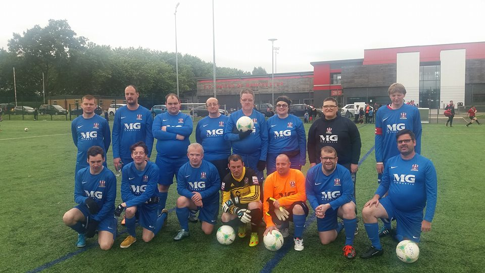 Disability Team take on FC United