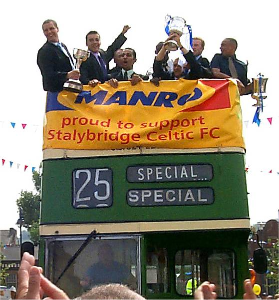 Unibond League Cup winners 1999